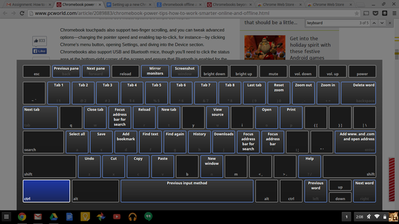 chrome-tastatura-scurtaturi
