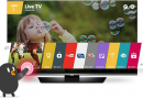Review Televizor Smart LED LG, 108 cm, 43LF630V, Full HD