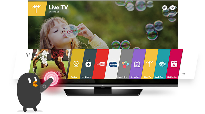 Televizor-Smart-LED-LG,-108-cm,-43LF630V,-Full-HD