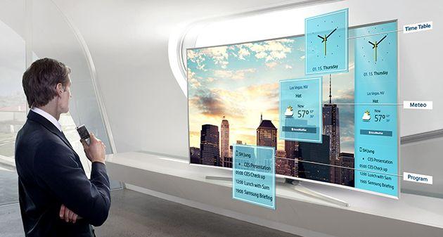 Smart Samsung, 121 cm, 48JU6400