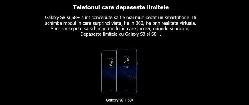 samsung galaxy s8 telefon fara limite