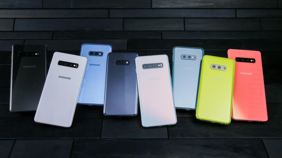 telefoane samsung galaxy S10 in toate culorile disponibile