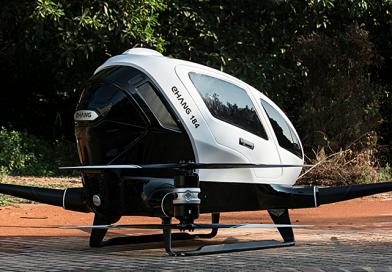 Drona conceputa pentru transportul oamenilor finalizeaza cu success testele cu oameni la bord <b>[VIDEO]</b>