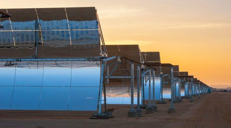 Centrala solara moroco
