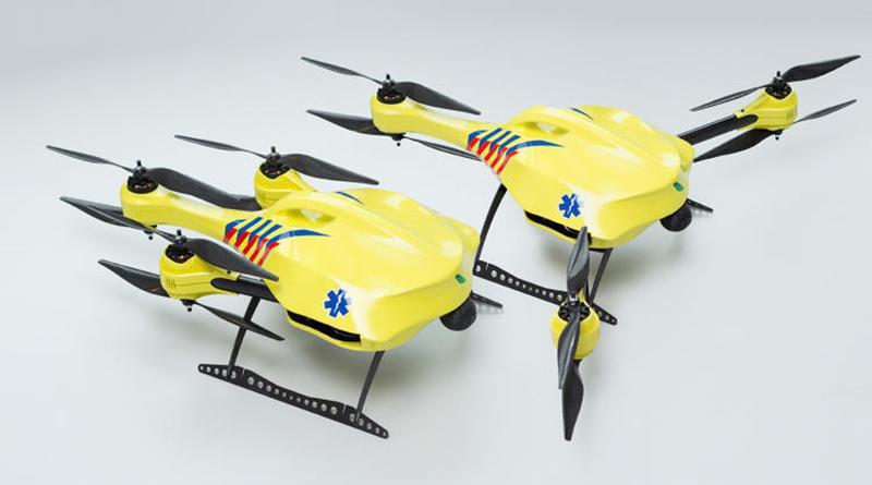 drona ambulanță